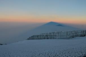 sunrise on Mt. Kilimanjaro